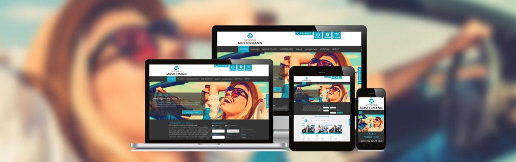 Autohaus Webseite